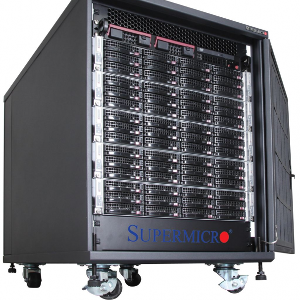 Supermicro Rack Cabinet RACK14U (black)